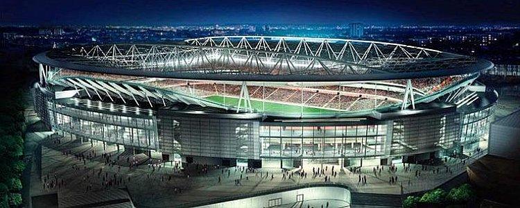 Стадион арсенала лондон вмещает