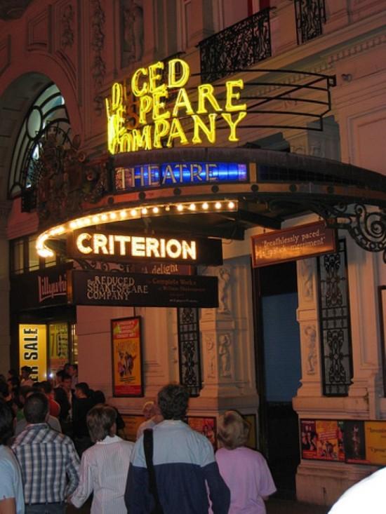 Театр «Критерион» в Лондоне (1)