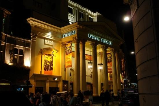 Театр «Лицеум» в Лондоне (1)
