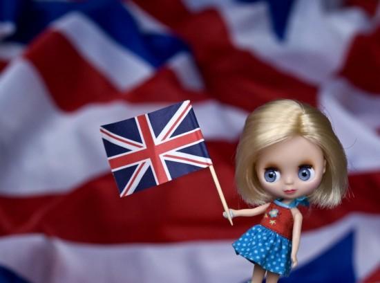 Майские праздники в Лондоне - флаг