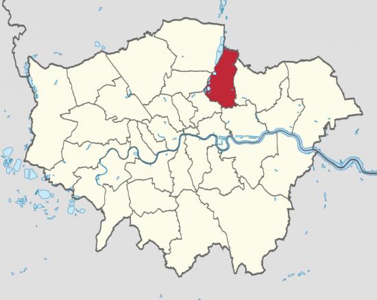 Район Уолтем Форест в Лондоне  (1)