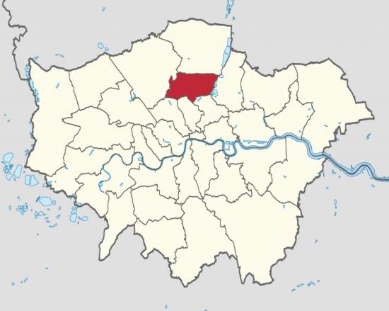 Район Харинги в Лондоне  (1)