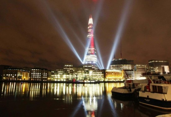 Небоскреб Shard в Лондоне1
