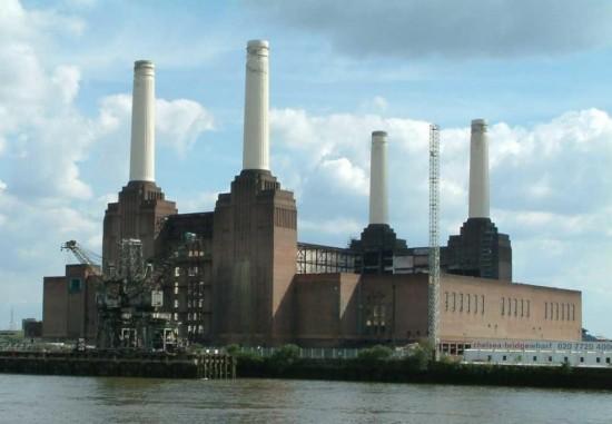 Электростанция  Бэттерси в Лондоне