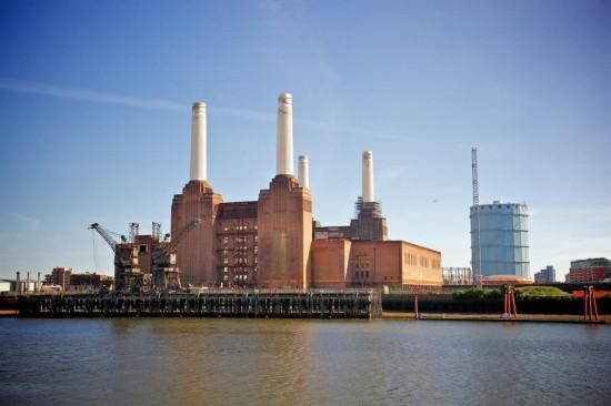 Электростанция  Бэттерси в Лондоне33