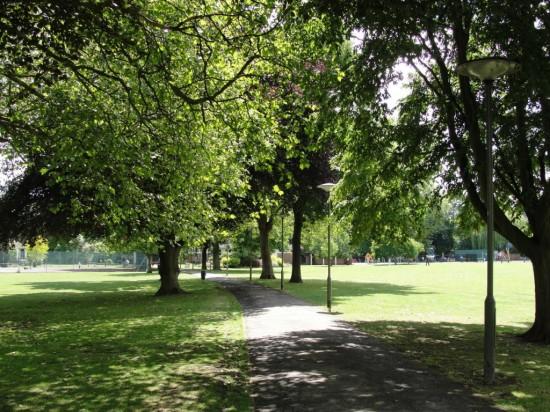 Парк Ламмас в Лондоне 3